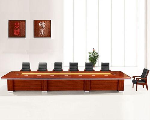 14人实木会议桌HY-A9360