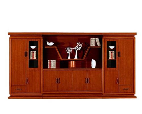八门泰柚木书柜 HY-C2018
