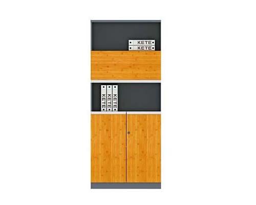 竹木板式文件柜 H60-0612