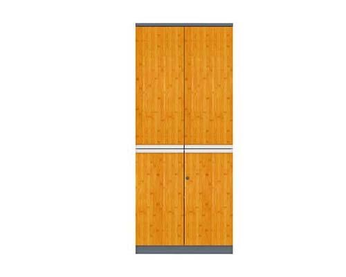 竹木板式文件柜 H60-0613