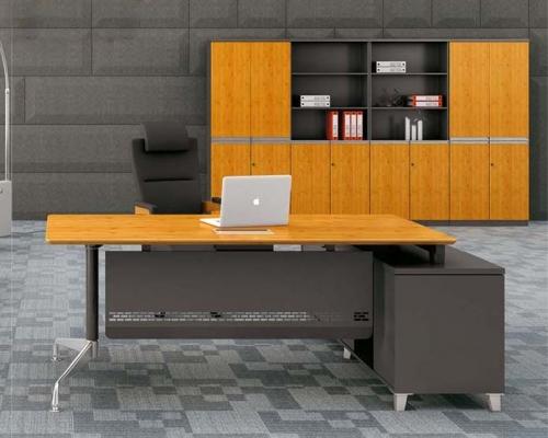 竹木办公桌 H60-0103(直边)