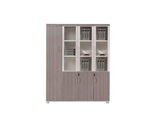 H70-0676(银松木)四门文件柜