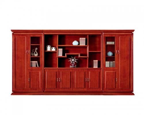 总裁台HY-D7038配套书柜