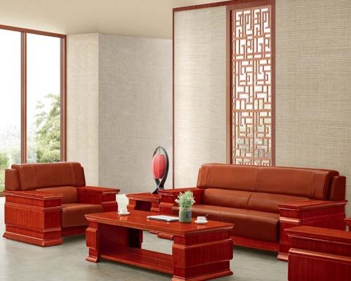 总裁台HY-D7038配套沙发