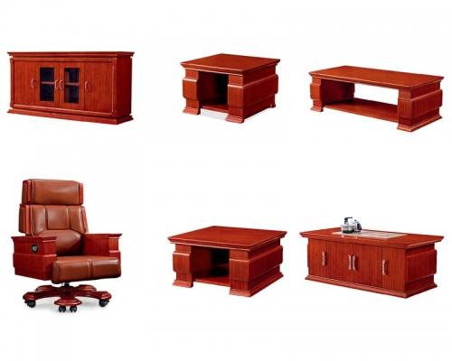 总裁台HY-D7038配套家具