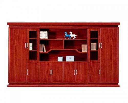 总裁台3号配套书柜