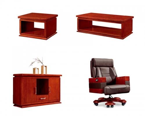总裁台3号配套家具