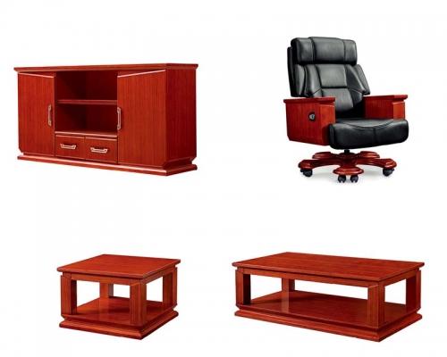 总裁台7号配套家具