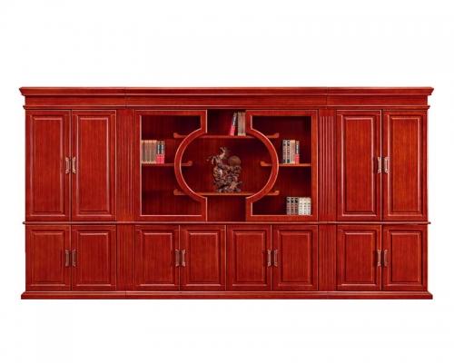总裁台HY-JNW01配套书柜