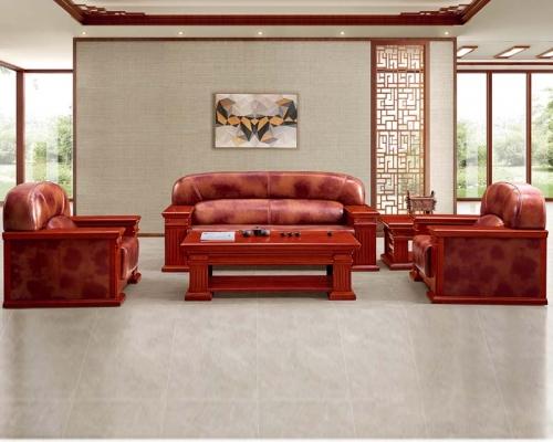 总裁台HY-JNW01配套沙发