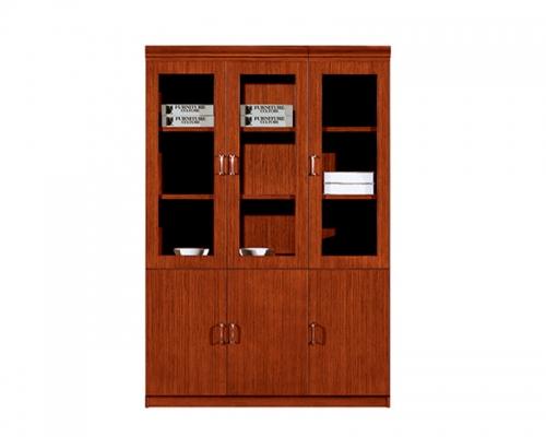 HY-C0411三门书柜