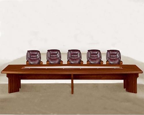 14人会议桌HY-A4802(泰柚木)