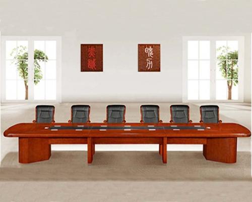 14人会议桌HY-A5342(泰柚木)