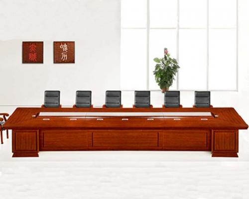 14人会议桌HY-A7217(泰柚木)